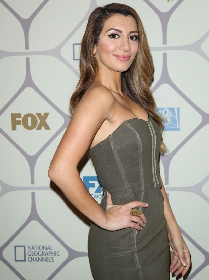 Nasim Pedrad 2015 Primetime Emmy Awards Fox After Party