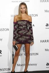 Natasha Poly - amfAR Milano 2015 at La Permanente in Milan