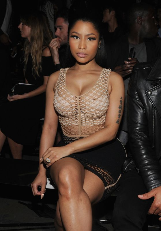 Nicki Minaj Alexander Wang Fashion Show Nyfw September 2015