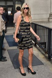 Nicky Hilton Arrives For Jeremy Scott Fashion Show, September 2015