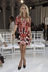 Nicky Hilton Poses at the Gabriela Cadena Spring 2016 Fashion Show in NYC