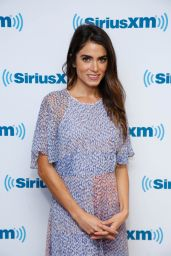 Nikki Reed at SiriusXM Studios in New York City, September 2015