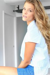 Nina Agdal - Elite Model Management : Polaroids - August 2015
