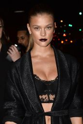 Nina Agdal - Harpers Bazaar ICONS Event in New York City, September 2015