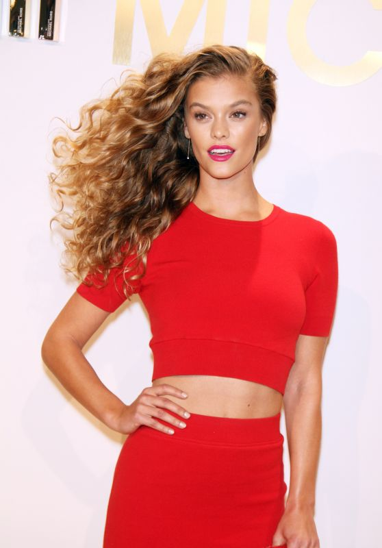 Nina Agdal - New Gold Collection Fragrance Launch in NYC, September 2015