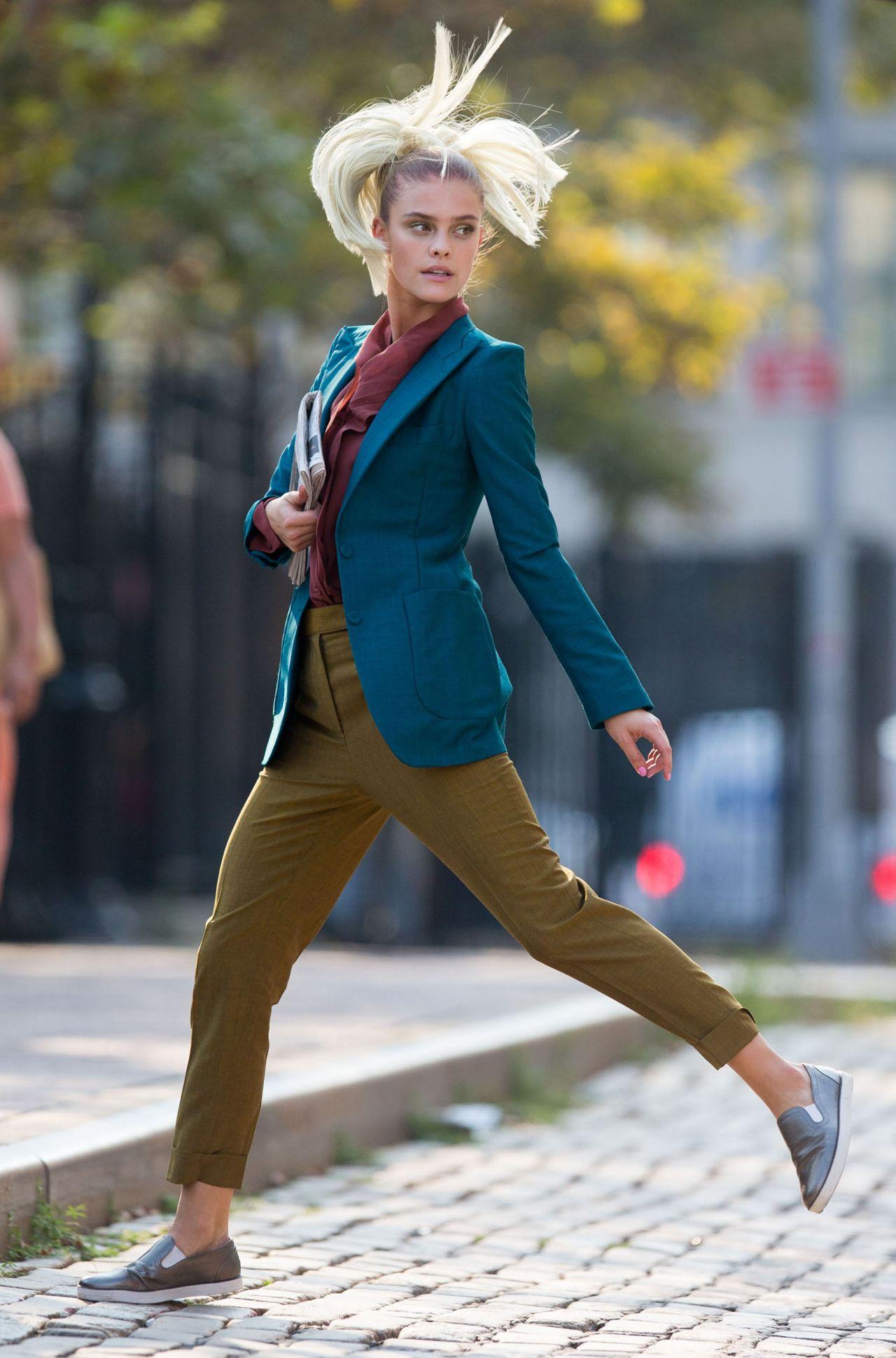 Nina Agdal Photoshoot Set In New York City September 2015