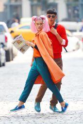 Nina Agdal - Photoshoot Set in New York City, September 2015