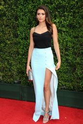 Nina Dobrev - 2015 Creative Arts Emmy Awards in Los Angeles