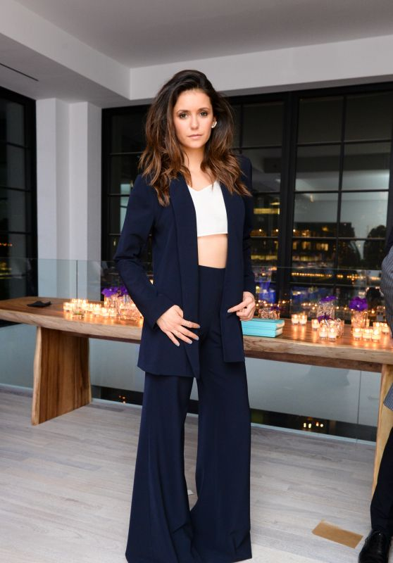 Nina Dobrev - Founding Member Launch Dinner in NYC, September 2015