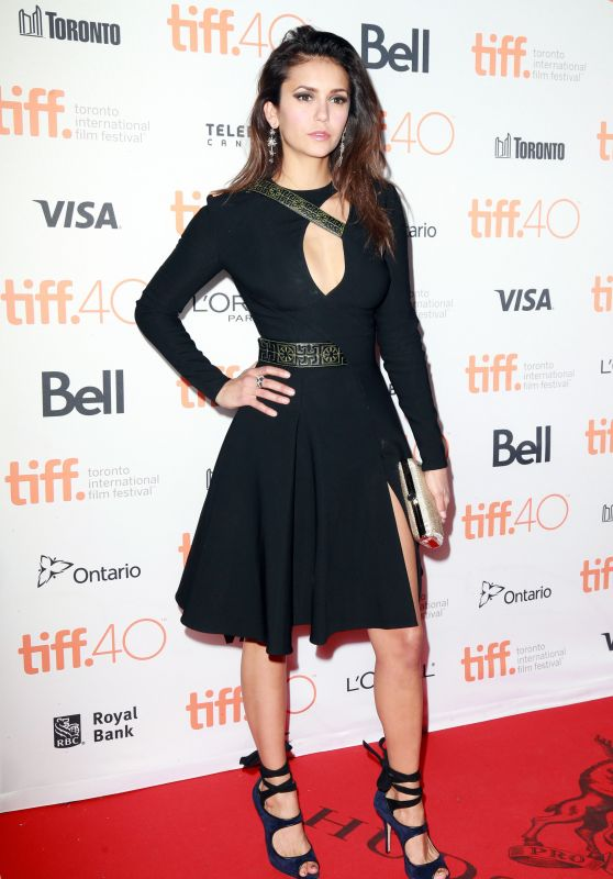 Nina Dobrev - The Final Girls Party at 2015 Toronto Film Festival