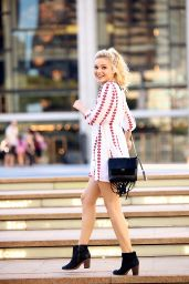 Olivia Holt - NYFW Photoshoot in New York City, September 2015