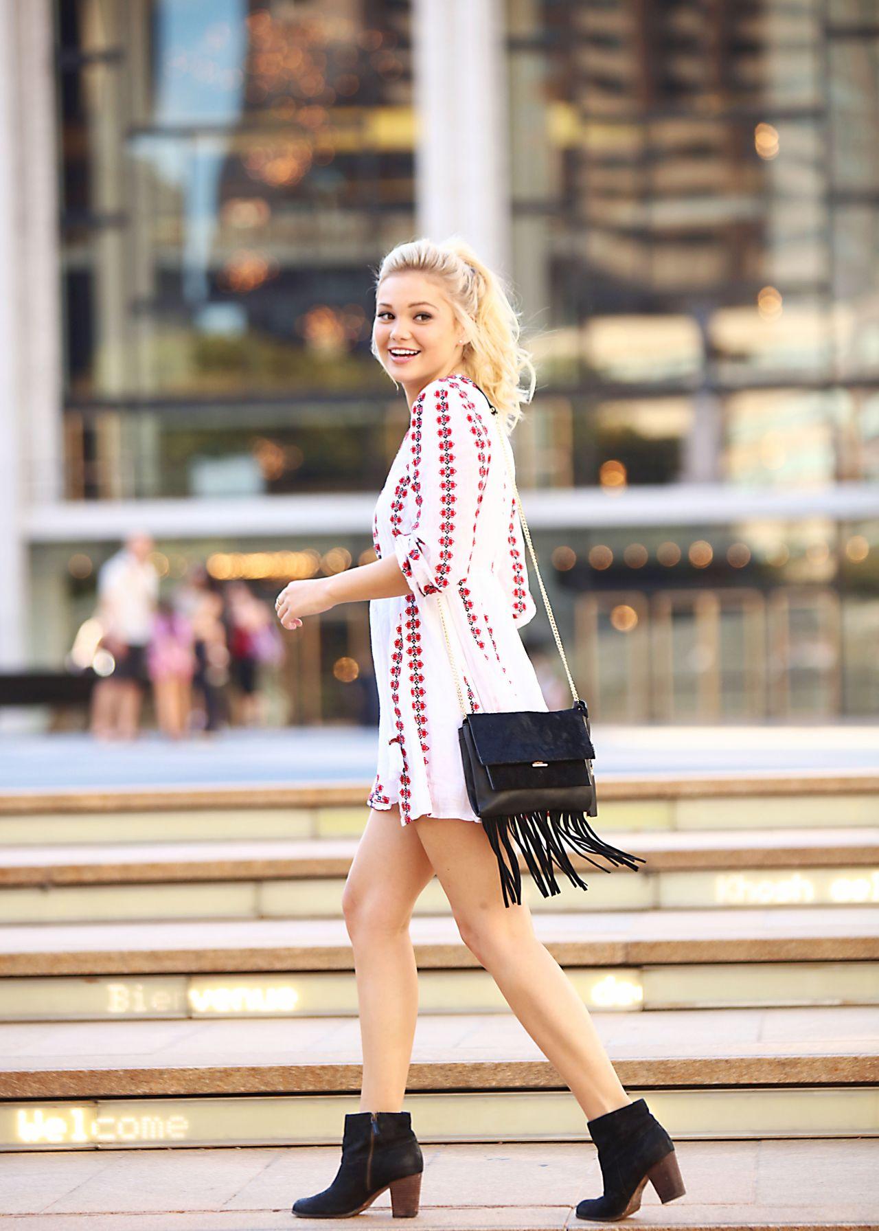 Olivia Holt Nyfw Photoshoot In New York City September 2015