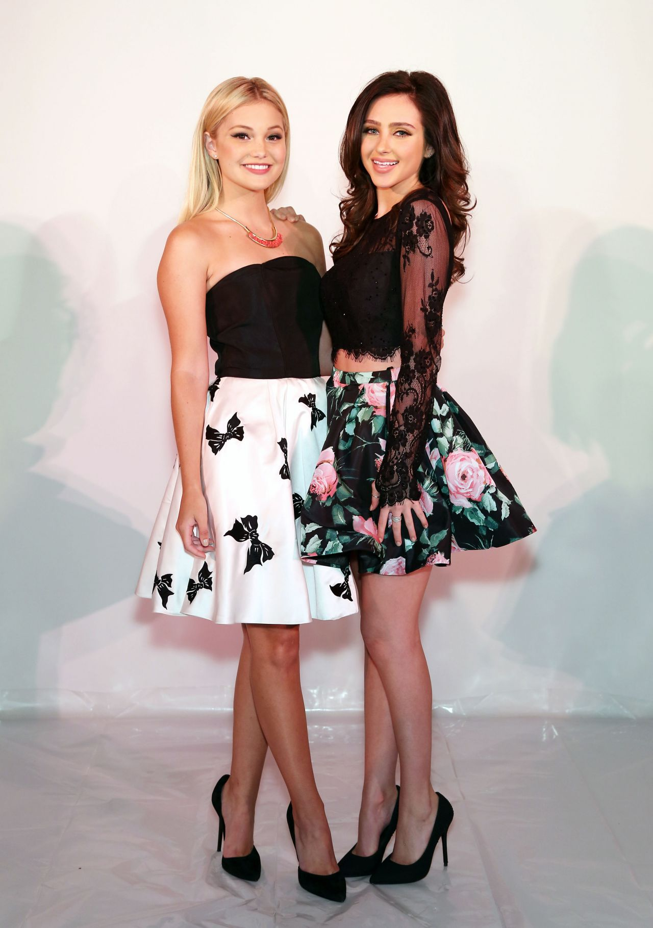 Olivia Holt - Sherri Hill Fashion Show in NYC, September 2015