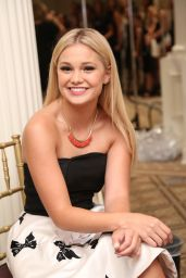 Olivia Holt - Sherri Hill Fashion Show in NYC, September 2015
