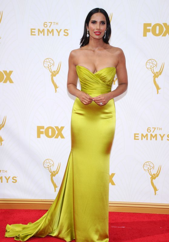 Padma Lakshmi – 2015 Primetime Emmy Awards in Los Angeles