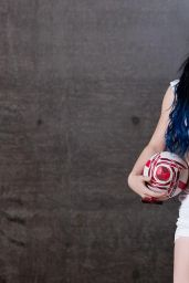 Paige - WWE Rugby World Cup Divas Photoshoot - September 2015