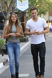 Paris Berelc in Jeans - Out  in Glendale, September 2015