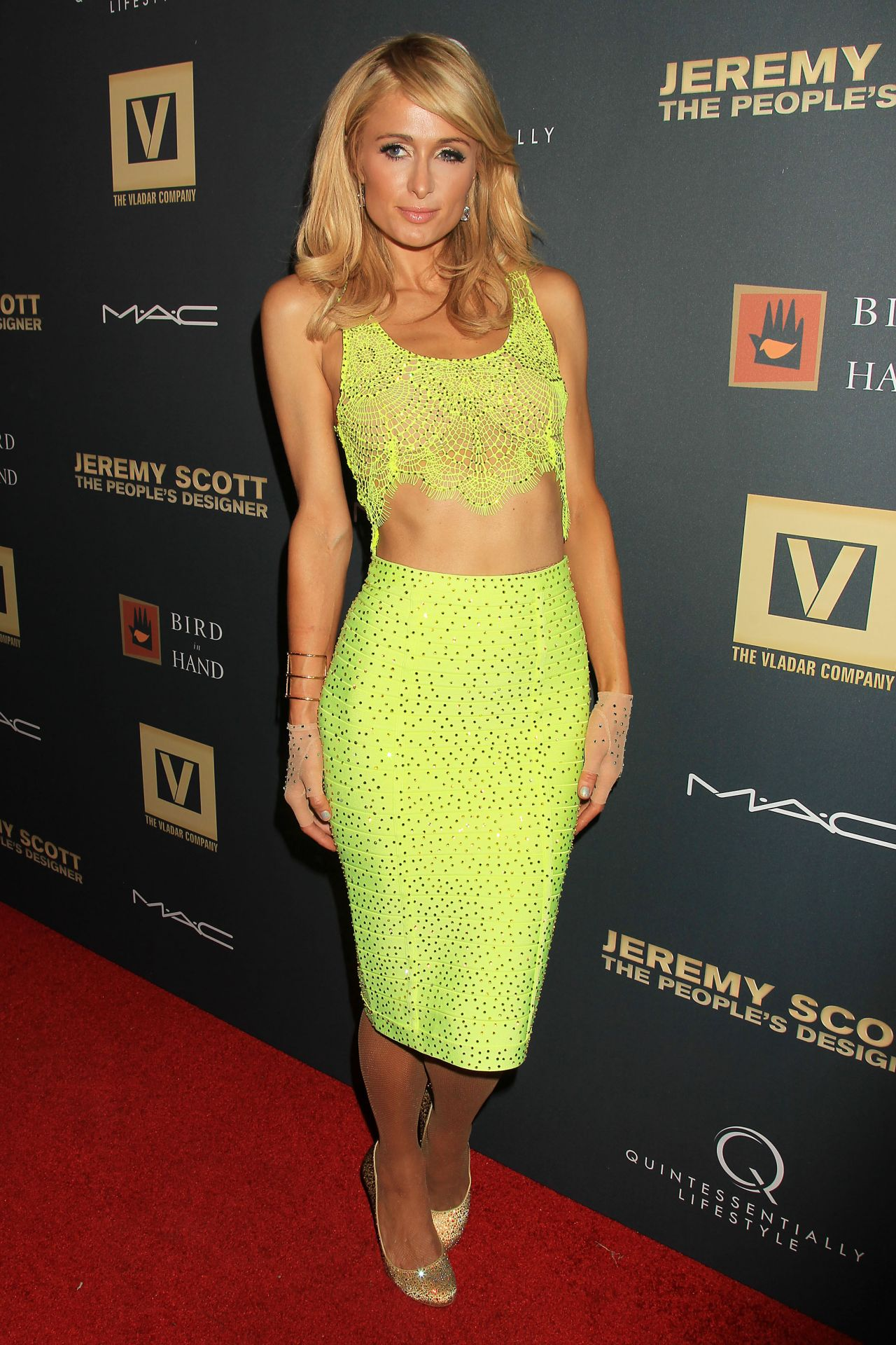 Paris Hilton – Jeremy Scott: The People's Designer Premiere in NYC Paris Hilton