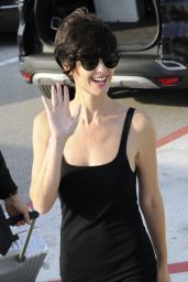 Paz Vega Arrives at the Lido for the 72nd Venice Film Festival