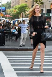 Petra Nemcova Style - New York City, September 2015