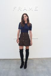 Phoebe Tonkin - FRAME Denim Fashion Show in New York City, September 2015