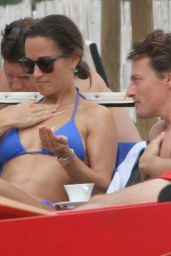 Pippa Middleton Wearing a Bikini in Italy, September 2015