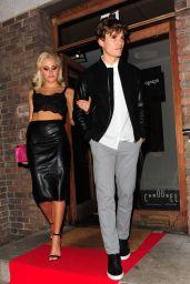 Pixie Lott - Leaving the Carousel Restaurant in London, SEptember 2015