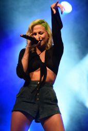 Pixie Lott - Performing at the Warrington Festival in UK, September 2015