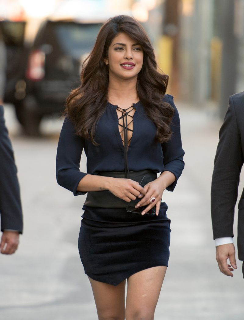 Priyanka Chopra - At Jimmy Kimmel Live In Hollywood -6764