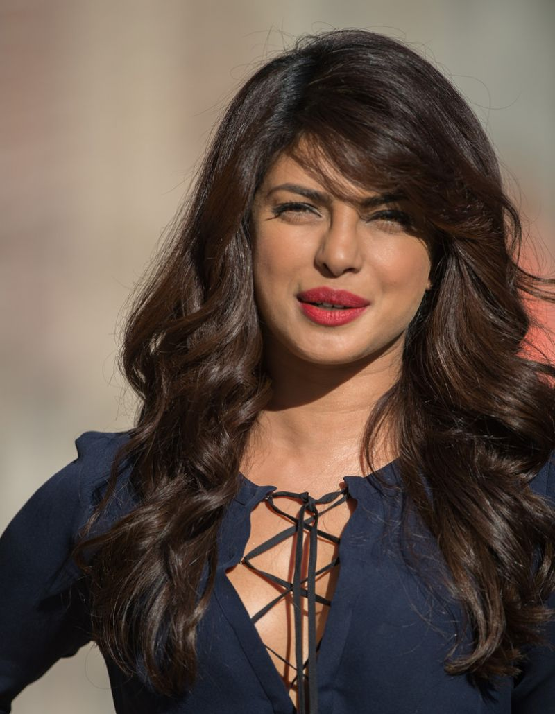 Priyanka Chopra At Jimmy Kimmel Live In Hollywood