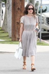 Rachel Bilson Casual Style - Out in LA, September 2015