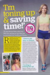 Rachel Riley - Fit and Well Magazine September 2015 Issue
