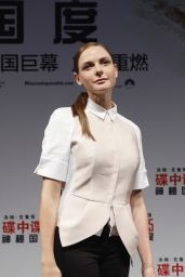 Rebecca Ferguson - Mission: Impossible - Rogue Nation Press Conference in Shanghai
