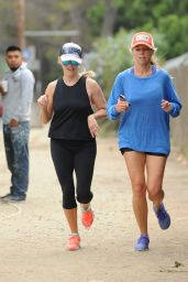 Reese Witherspoon - Morning Run in Brentwood, September 2015