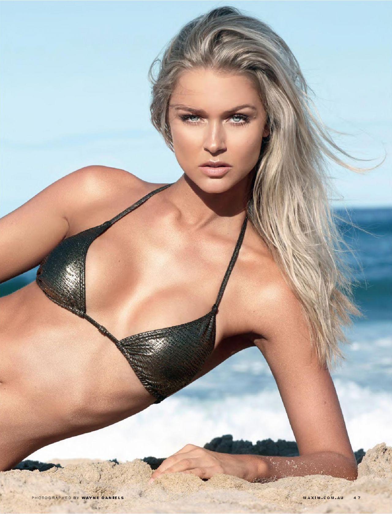 Renae Ayris Maxim Magazine Australia September 2015 Issue
