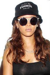 Rihanna - Arriving at LAX Airport, September 2015
