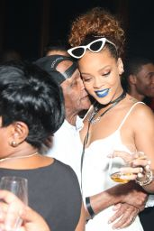 Rihanna - Party at The New York Edition in NYC, September 2015