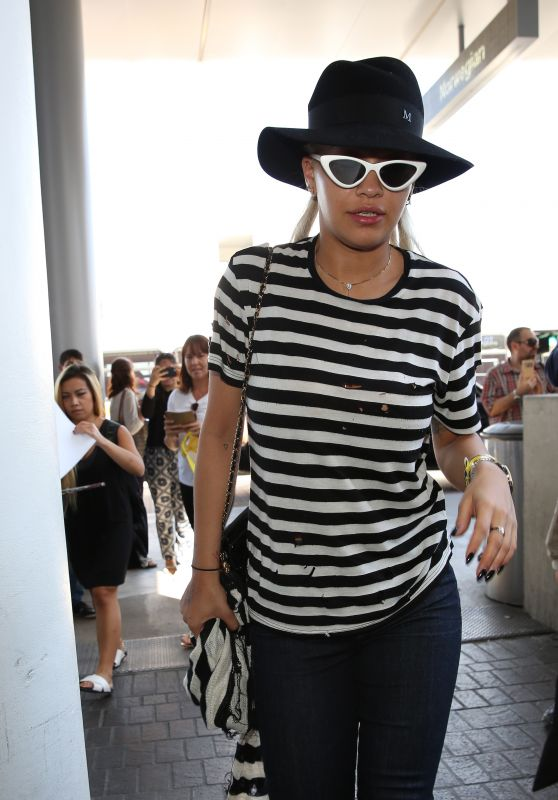 Rita Ora Airport Style - LAX, August 2015