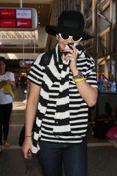 Rita Ora Airport Style - LAX, August 2015