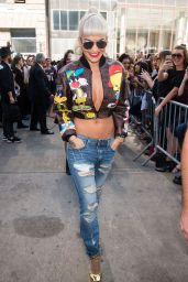 Rita Ora - Jeremy Scott Show at Spring 2016 NY Fashion Week