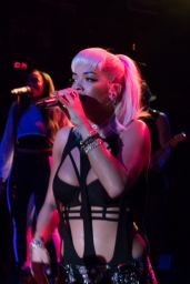 Rita Ora - Performing at Irving Plaza in New York City, September 2015
