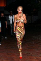Rita Ora - Republic Records 2015 VMA After Party in West Hollywood