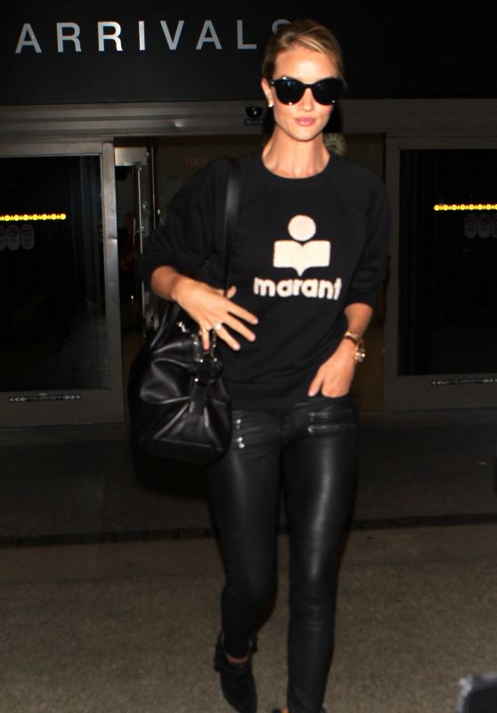 Rosie Huntington-Whiteley Airport Style - LAX in Los Angeles, September 2015