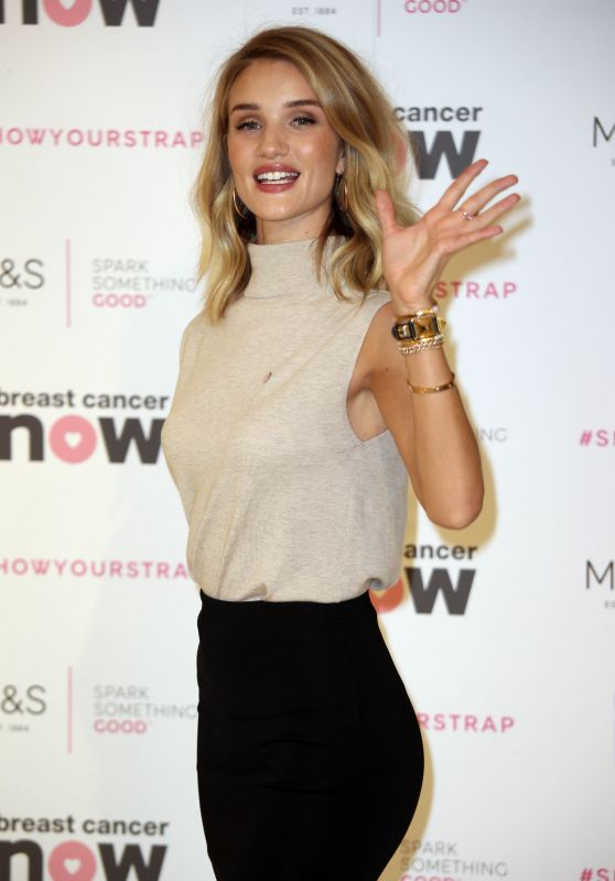 Rosie Huntington-Whiteley - Lingerie Launch For Breast Cancer Awareness in London
