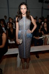Ryan Newman Style - Pamella Roland Fashion Show in NYC, September 2015