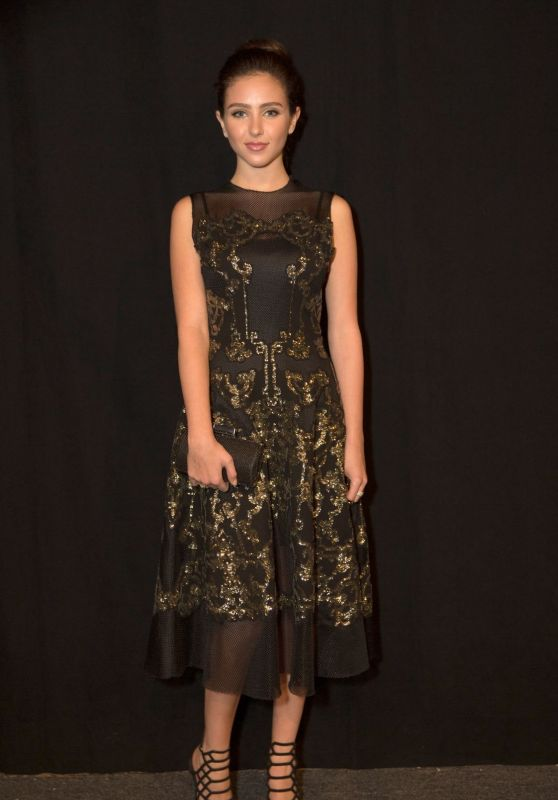 Ryan Newman - Vivienne Tam Fashion Show Spring 2016 NYFW