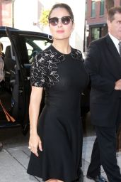 Salma Hayek - Out in Toronto, September 2015