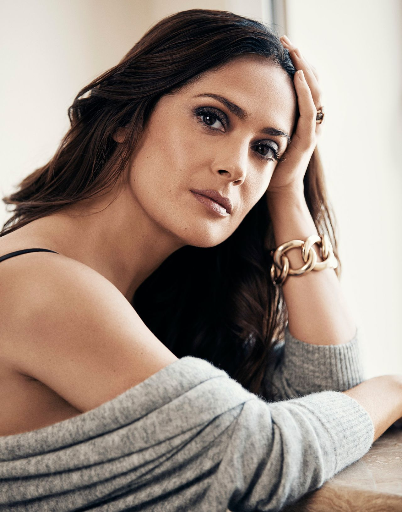 Salma Hayek Photoshoot For Evening Standard Newspaper
