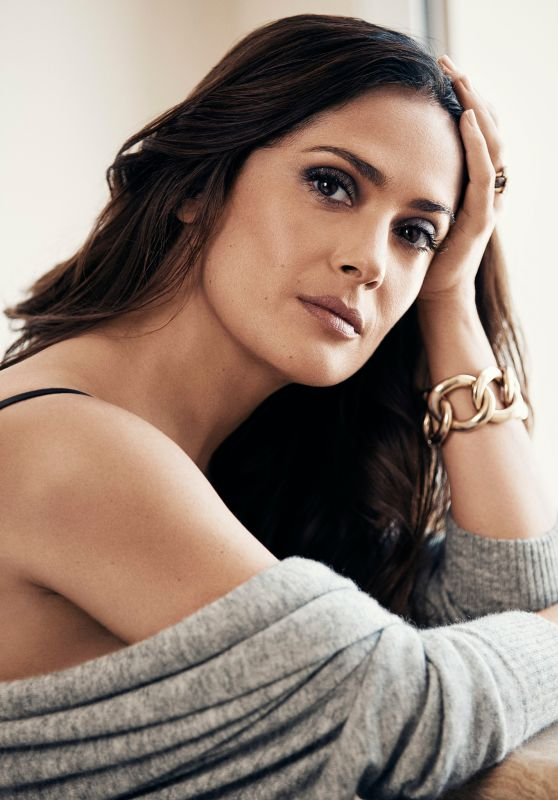 Salma Hayek - Photoshoot for Evening Standard Newspaper September 2015