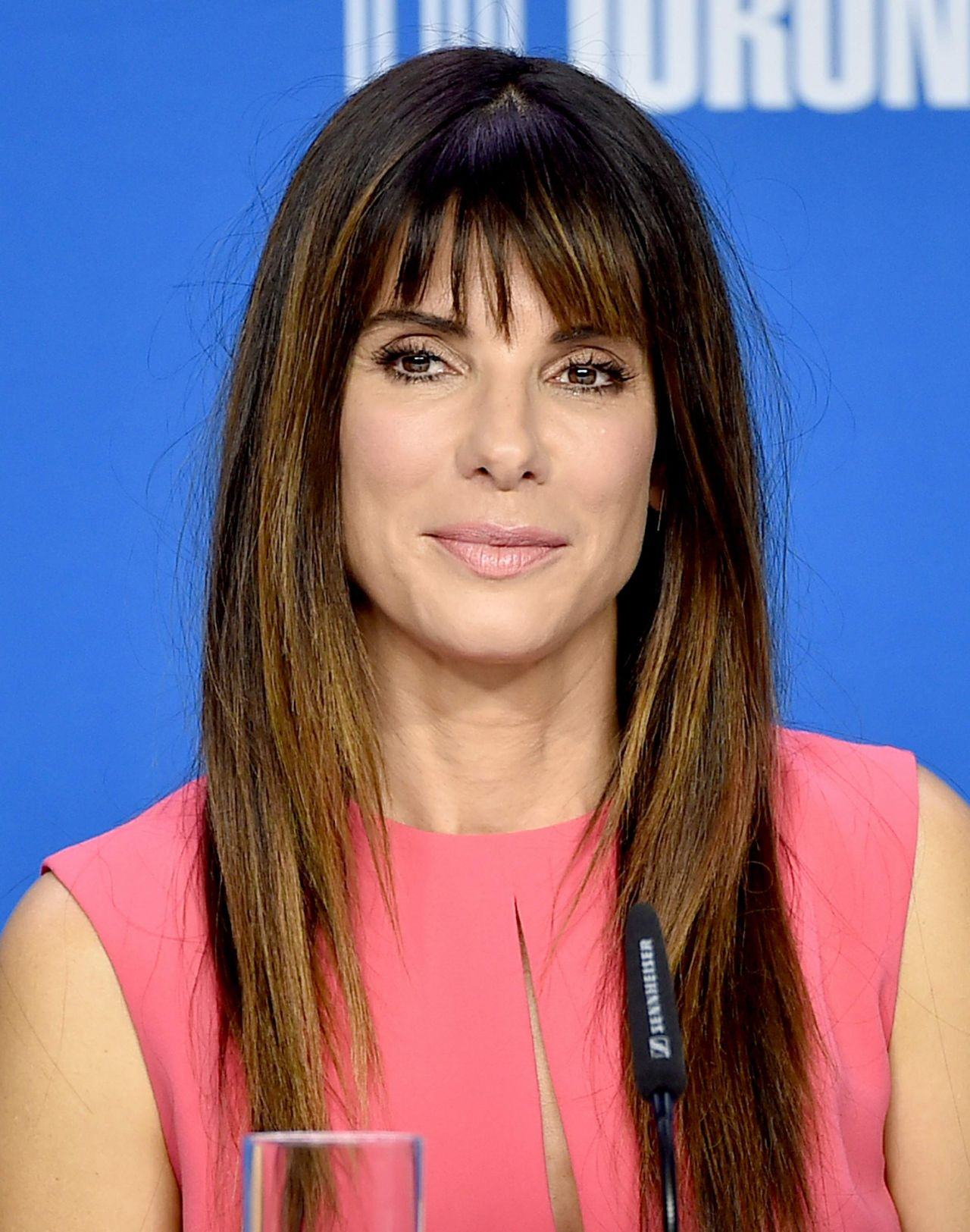 Sandra Bullock - Our Brand is Crisis Press Conference in Toronto, TIFF ...